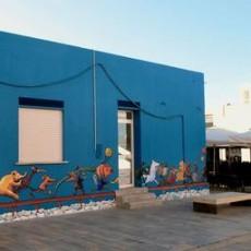 Silent Books og børnebiblioteket på Lampedusa