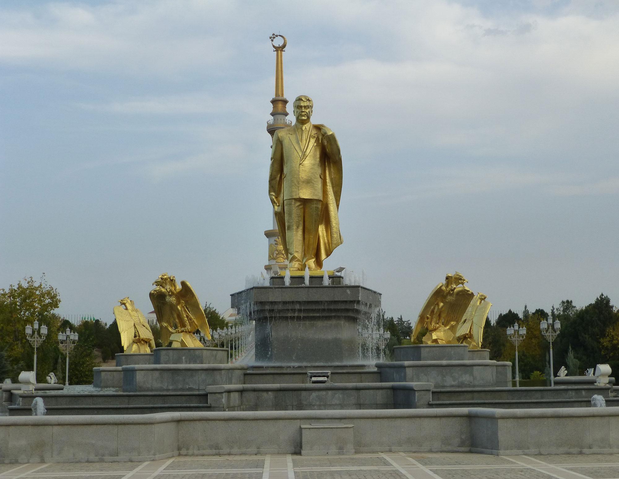 Turkmenistan Golden President